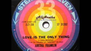 Aretha Franklin - Won't Be Long / Love Is The Only Thing - 7″ 33 RPM - 1961