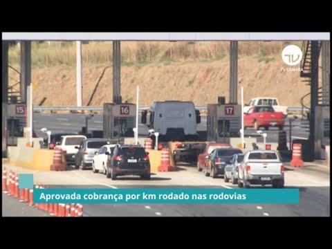 Aprovada cobrança por km rodado nas rodovias - 06/05/21