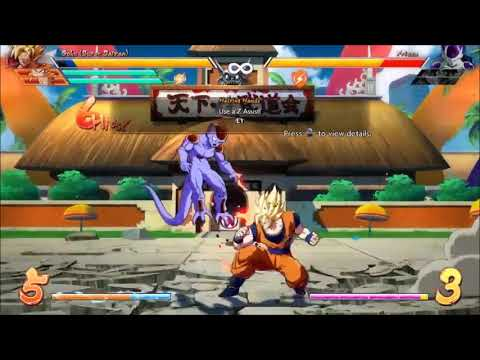 Dragonball fighterz goku combos just fooling around….