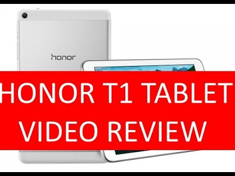 Huawei Honor T1 Tablet Low Cost, video recensione in Italiano