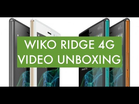 Wiko Ridge 4G, il Video unboxing