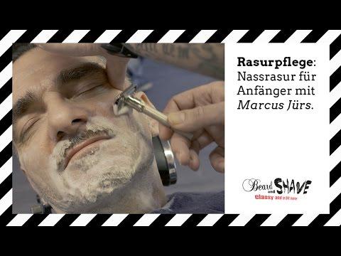 Rasurpflege: Die Nassrasur für Anfänger mit dem Rasierhobel - Marcus Jürs