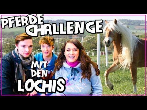 PFERDE CHALLENGE mit den LOCHIS  ♥