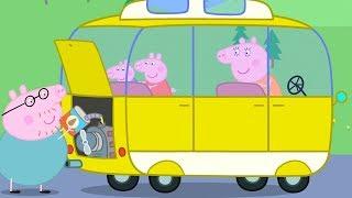 Świnka Peppa | Samochod Kempingowy | Bajki Po Polsku | Peppa po Polsku