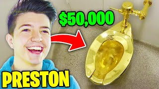 6 MOST EXPENSIVE Things YouTubers Have BOUGHT! (Preston, DanTDM, MrBeast, Morgz)