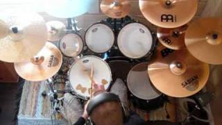 Aces High cover by Children of Bodom (drum cover)