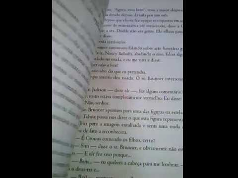 Review Livro o ladrão de raios -edi. Intrínseca