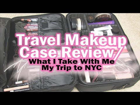 Amazon Makeup Travel Case Review | Watch Me Pack for NYC!