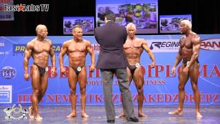 2012 World Championships BUDAPEST   master classic bodybuilding over 50y