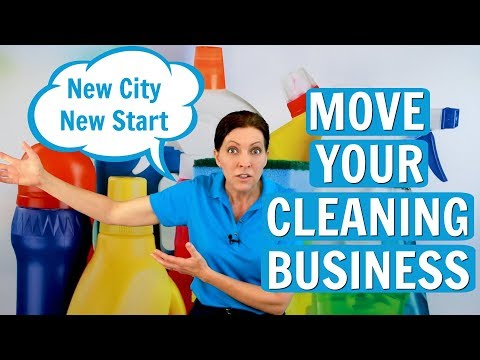 How to Rebuild Your Cleaning Business After a Move