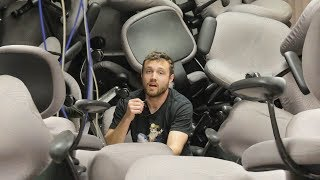 Filling A Room With 200 Chairs