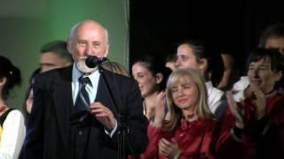 Maestro Dinko Fio pjeva sa klapama - Golubice bila - Dvorana SC-a Zagreb 29-11-2009 HD