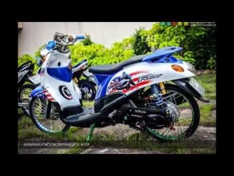 Video Modifikasi Yamaha FINO Thailook Style | Mothai | Thailand Style