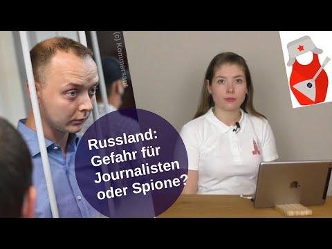 Russland: Gefahr für Journalisten oder Spione? [Video]