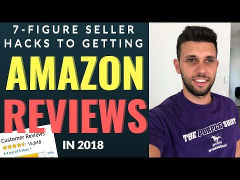 How I Got My FIRST 10 Reviews On Amazon FBA In 2018