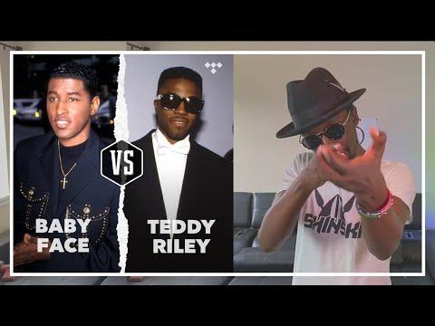 Teddy Riley Vs Baby Face New Jack Swing Quick Mix by Dj Shinski