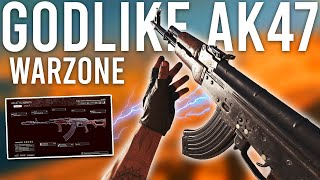 The AK47 is GODLIKE now in Warzone...