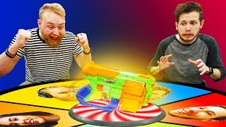 NERF Spin the Blaster Challenge