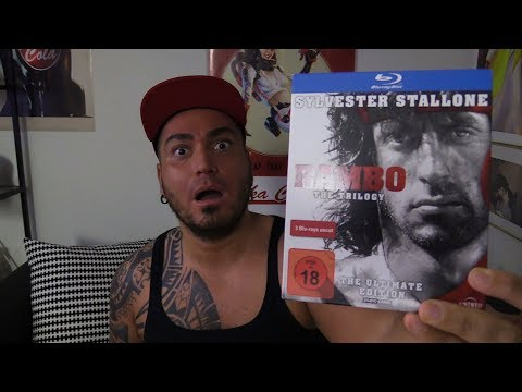 Rambo Trilogie (The Ultimate Edition Uncut) Unboxing German