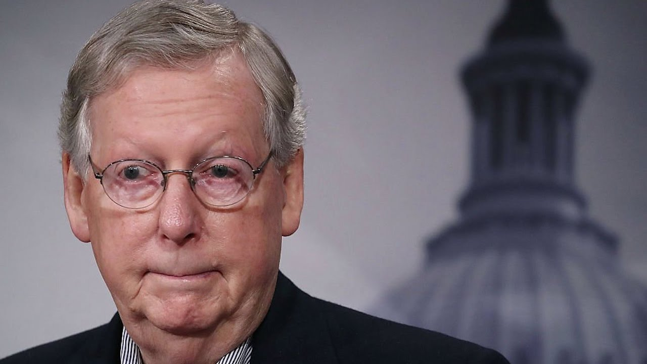 McConnell Doesn't Seem Psyched About Border Wall thumbnail