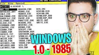 INSTALLO E PROVO WINDOWS 1.0 (Sistema operativo del 1985)