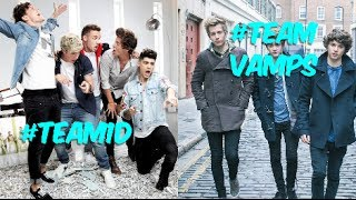 One Direction Vs. The Vamps! (Battle Of The Boy Bands)