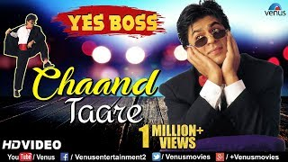 Chaand Tare - HD VIDEO | Shah Rukh Khan & Juhi Chawla | Yes Boss | 90's Best Bollywood Songs