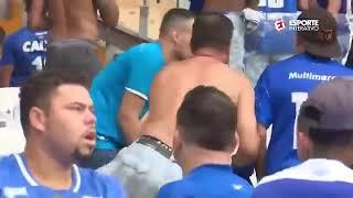 Torcida Do Cruzeiro X Polícia   Confusão No Mineirão Após O Rebaixamento Do Cruzeiro   08122019