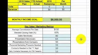 4th Quarter 2010 Sales Plan Tutorial.mp4