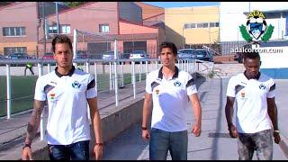 preview picture of video 'Presentación en Silbury´s de jugadores A.D Alcorcón: Anderson, Guichón y Javi Jiménez'