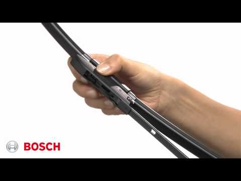 How to Fit Bosch Aerotwin Bayonet Fit Wiper Blades