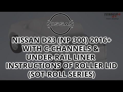 Βίντεο εγκατάστασης για Nissan D23 NP300 2016+ (με c-channels)