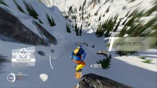 Steep Intro Gameplay Part 1 Wingsuit and Snowboarding (PS4, Xbox One)