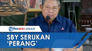 SBY Serukan 'Perang' Tanggapi KLB Partai Demokrat, Sebut Moeldoko dengan Darah Dingin Lakukan Kudeta