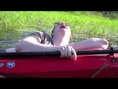 Max Falling Out Of Kayak