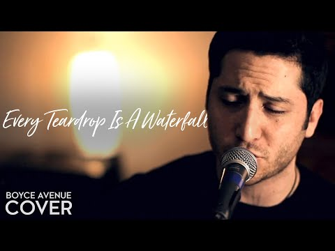 Every Teardrop Is A Waterfall - Coldplay (Boyce Avenue acoustic cover) on Spotify & Apple