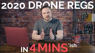 NEW UK CAA 2020 Drone Laws Explained - FAST CONFUSION BUSTER! | Mr MPW