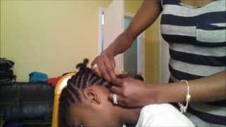How To Do A Braided Mohawk On Natural Hair