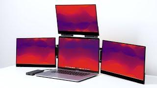 MacBook Pro Setup - Quad Display Insanity!