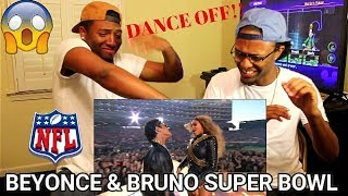 Beyoncé & Bruno Mars Crash the Pepsi Super Bowl 50 Halftime Show | NFL (REACTION)
