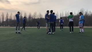 Chonnam Uzbek team and CNU foreign team soccer game.