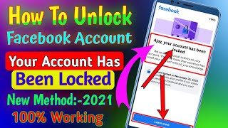 How To Unlock Facebook Account | Your account has been locked | Facebook Learn More Problem Solution