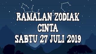 Ramalan Zodiak Cinta Besok Sabtu 27 Juli 2019