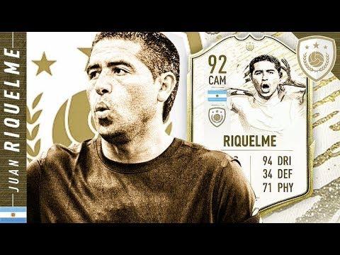 WORTH THE UNLOCK?! ICON SWAPS 92 MOMENTS RIQUELME REVIEW!! FIFA 20 Ultimate Team
