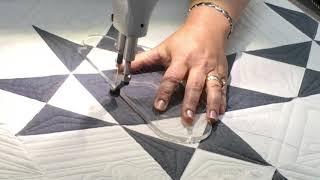 Longarm Custom Quilting Ohio Star