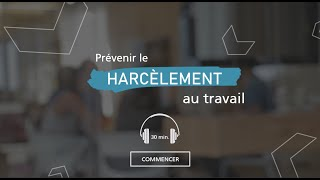 "Our online training module, ""Preventing Harassment in the Workplace"" will be ready in May!"