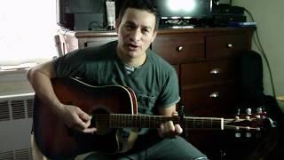 ESPIRITU SANTO AYUDAME TE PIDO Tutorial en Guitarra