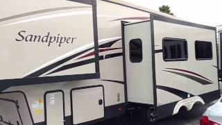 2017 Forest River Sandpiper 3275DBOK Bunk model Fifth Wheel for sale @ RV ready