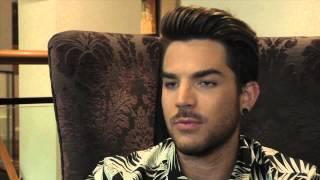 Adam Lambert interview (part 1)