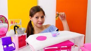 Мультики для девочек - вечеринка у Барби с Кеном